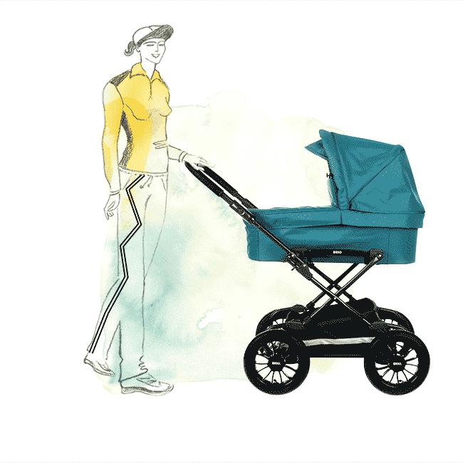 Magazine Pregnant lifestyle illustration illustrator copenhagen