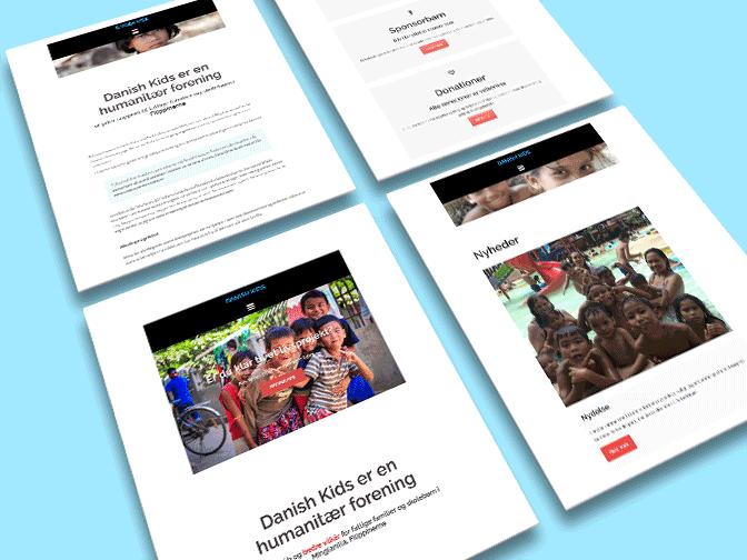 danishkids.dk webdesign
