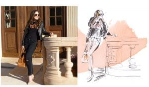 fashion-illustration-blogger-lifestyle