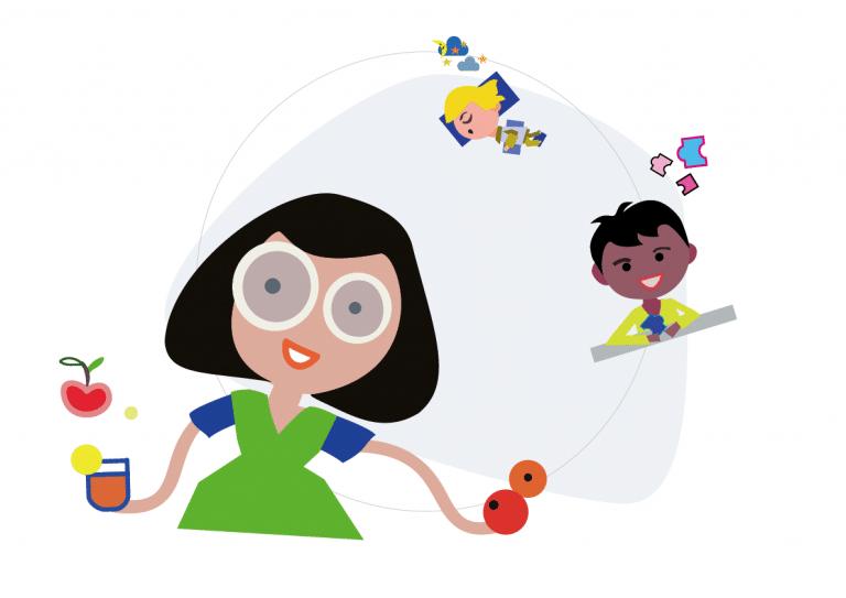 illustration graphic design-undervisning