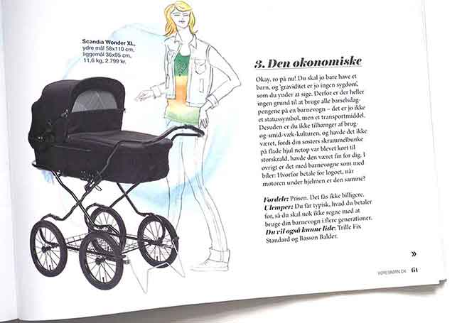 Magazine Pregnant lifestyle illustration illustrator copenhagen