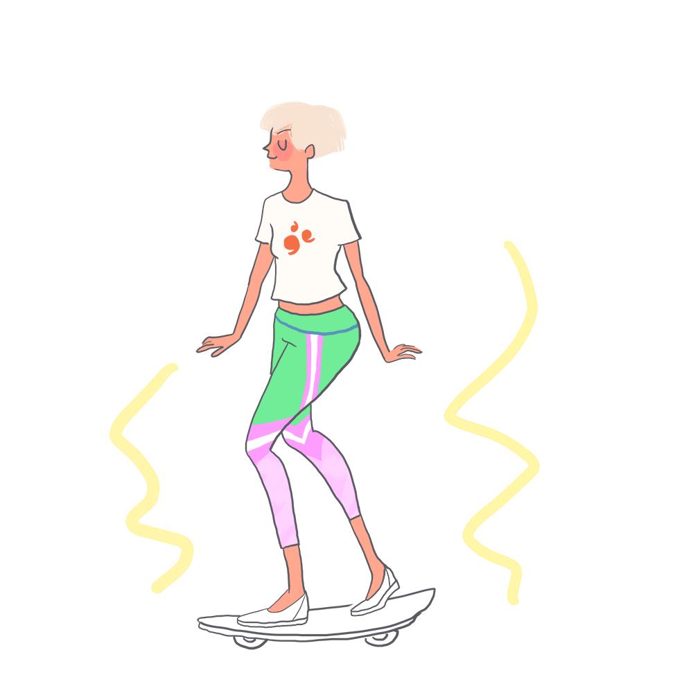icecream summer woman