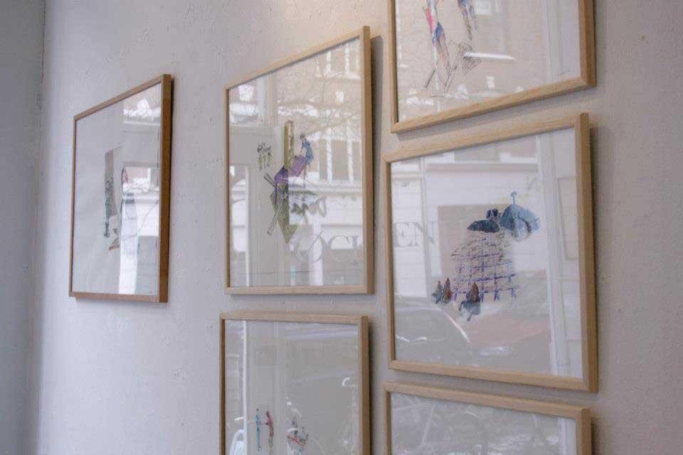 kunstudstilling galleri øckenlund