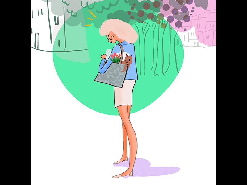 lifestyle storytelling illustration