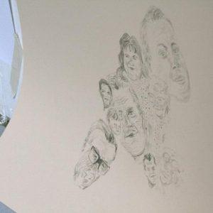 grupe udstilling tegning